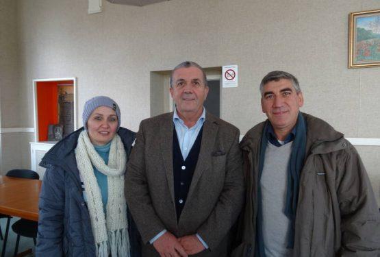 Un couple de Syrien accueilli à Pompadour