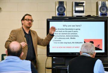 محضر الاجتماع الحواري الأول لتأسيس للوبي السوري في الولايات المتحدة الاميركية