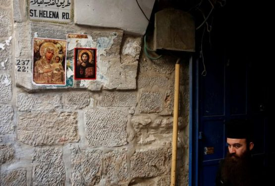 In Jerusalem's cramped Old City, Christians feel the squeeze