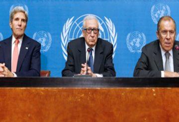 مسؤولية الأمم المتحدة عن إنجاح «جنيف 2»