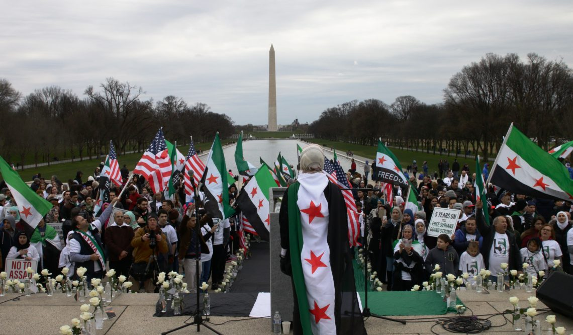 Five Years Syrian Revolution continuing